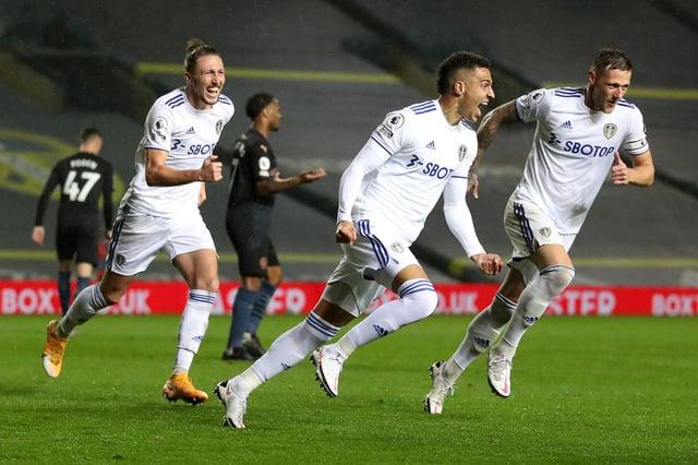 Mark Lawrenson brands Leeds United 'adventurous' and reveals Man City score prediction