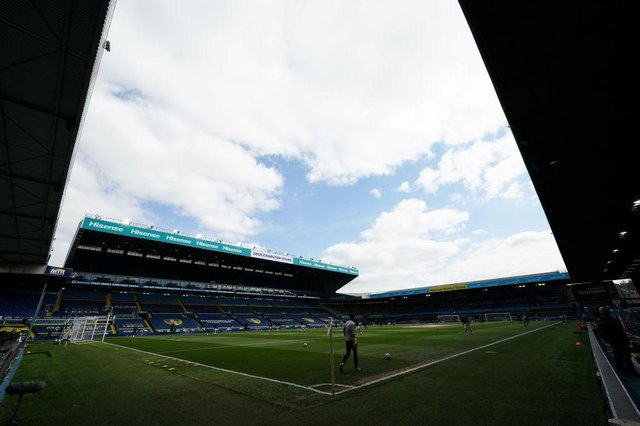 Elland Road. (Photo by Jon Super - Pool/Getty Images)