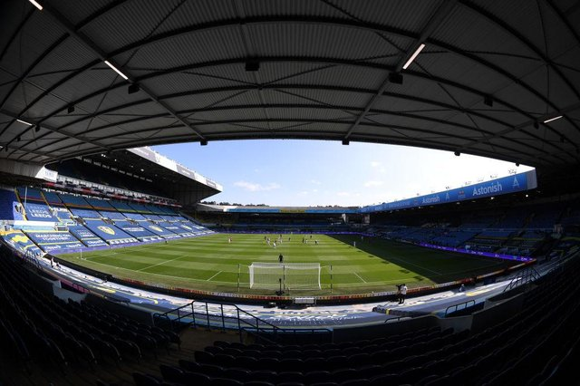 Elland Road, the home of Leeds United Football Club. (Photo by Laurence Griffiths/Getty Images)