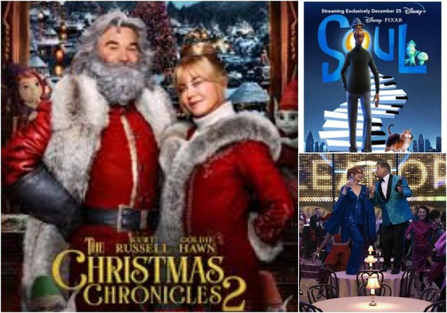 Netflix, Now TV and Disney + have released several Christmas movies for 2020