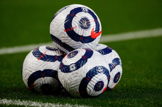 Premier League match ball. (Photo by Phil Noble - Pool/Getty Images)