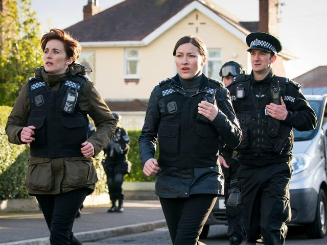 In the opening episode of Line of Duty's new series, the team were on the hunt for CHIS - but it's not as rude as it sounded (Photo: BBC)