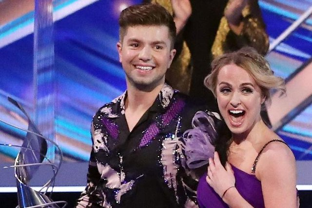 Capital Radio's Sonny Jay was announced King of the Ice 2021 (Picture: ITV)
