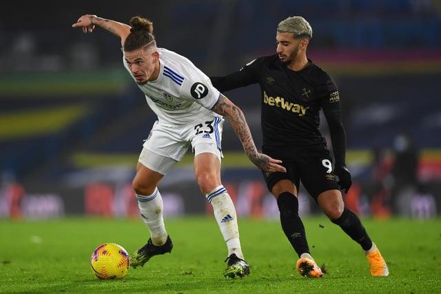 Mark Lawrenson's West Ham United vs Leeds United prediction (Photo by GARETH COPLEY/POOL/AFP via Getty Images)