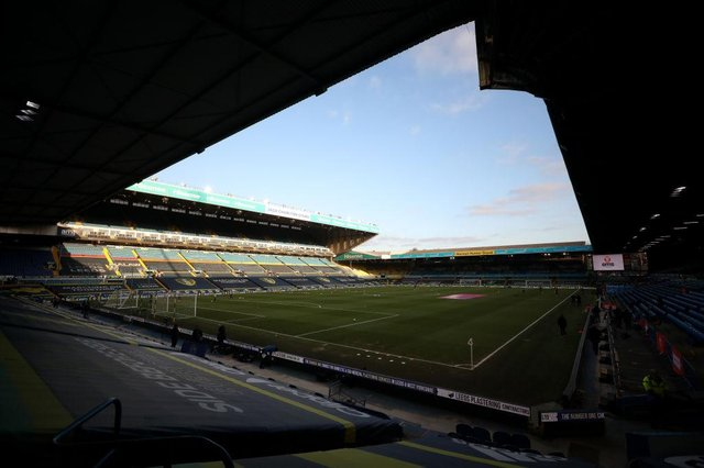 Elland Road, the home of Leeds United Football Club. (Photo by Naomi Baker/Getty Images)
