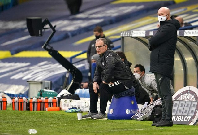 Marcelo Bielsa, Manager of Leeds United. (Photo by Jon Super - Pool/Getty Images)