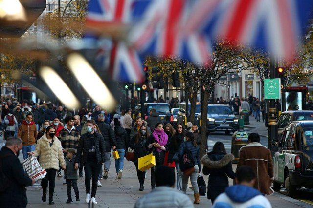Shoppers could be lining England's high streets by mid-April, as stage two of the government's roadmap is rolled out (Picture: Getty Images)