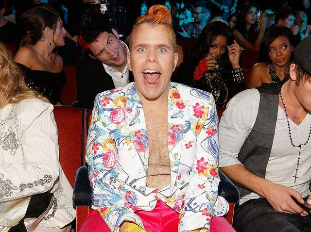 Perez Hilton at the 2009 MTV Video Music Awards in New York City (Photo: Christopher Polk/Getty Images)