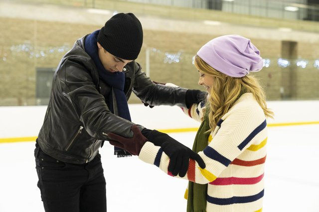 Dylan Arnold as Noah and Josephine Langford as Tessa Young in After We Collided (Picture: PA Photo / Shear Entertainment / Josh Stringer)