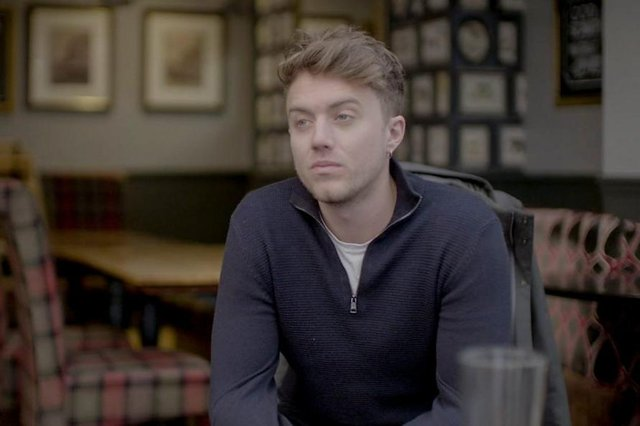 Roman Kemp, 28, speaks openly about his own struggles and the death of his close friend, Joe Lyons (Picture: BBC/TwoFour