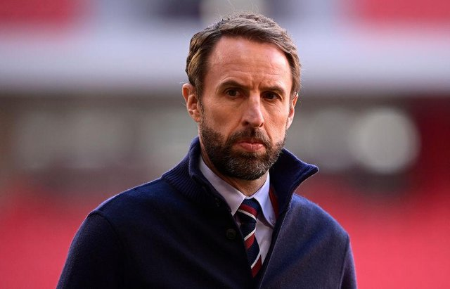 Gareth Southgate, Manager of England.  (Photo by Mattia Ozbot/Getty Images)