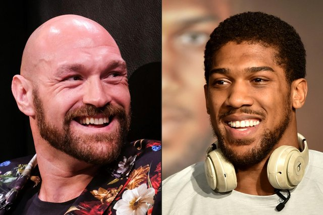 Tyson Fury and Anthony Joshua are gearing up for a fight to become the undisputed heavyweight boxing champion in 2021. (Pic: Getty Images)