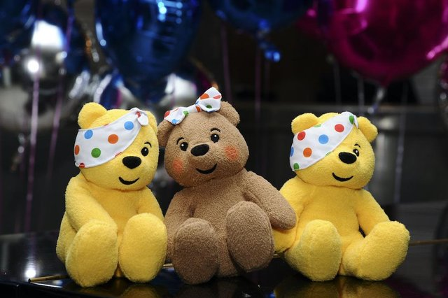 Children in Need's iconic mascot is Pudsey Bear (Shutterstock)