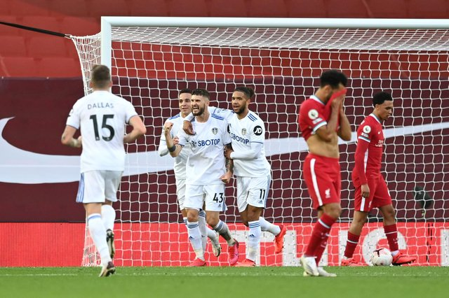 Mark Lawrenson lauds 'brilliant' Leeds United and makes Liverpool score prediction