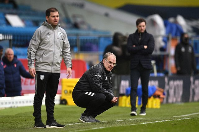 Marcelo Bielsa, Manager of Leeds United. (Photo by Oli Scarff - Pool/Getty Images)