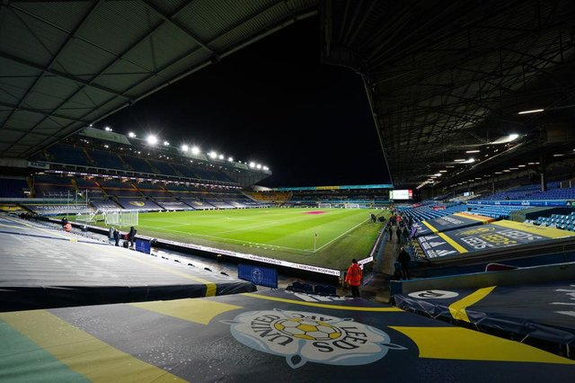 Elland Road, the home of Leeds United Football Club. (Photo by Jon Super - Pool/Getty Images)