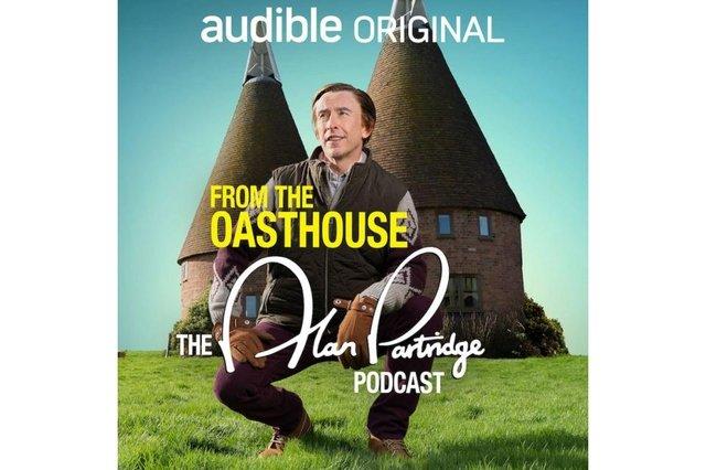 From the Oasthouse: The Alan Partridge Podcast follows Partridge over 18 episodes (Photo: Audible)