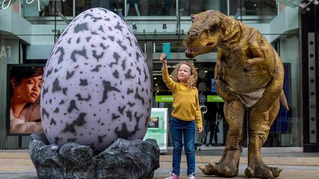 Dinosaur Egg Hunt hatchers monster summer fun in Leeds