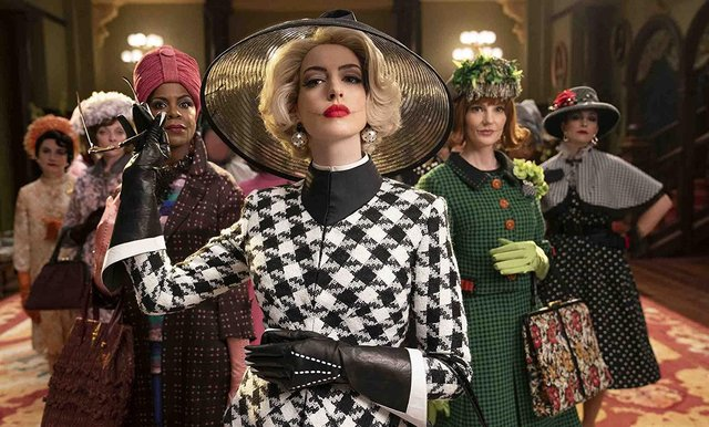 The new adaptation of The Witches stars Anne Hathaway as the Grand High Witch (Photo: Warner Bros)