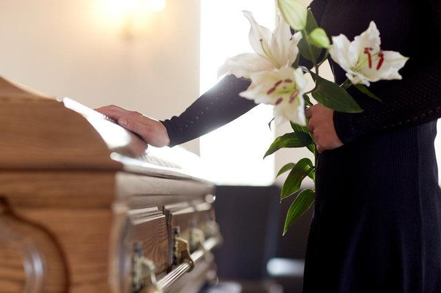 The number of people who can attend funerals in England was limited during lockdown to reduce the spread of coronavirus (Photo: Shutterstock)