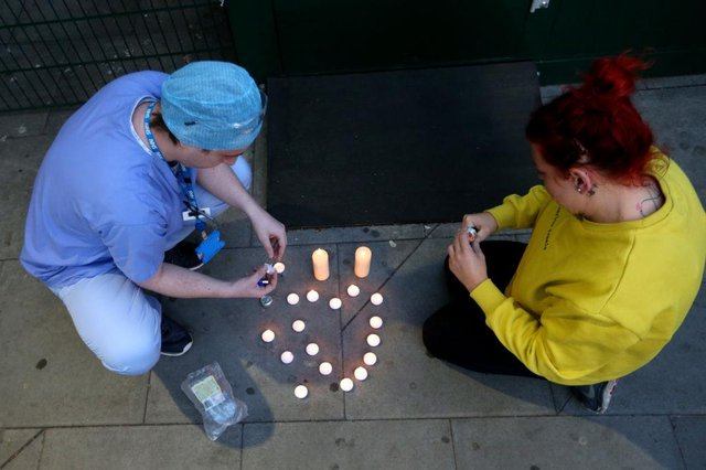 UK citizens are to pay their respects on March 23 to those who lost their lives from Covid-19 (Getty Images)