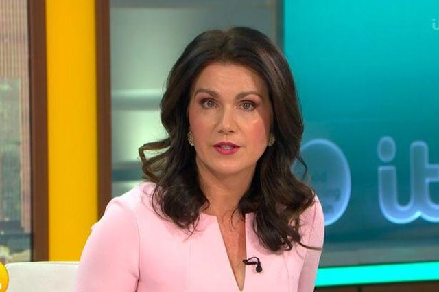 Susanna Reid on the departure of Piers Morgan from Good Morning Britain (ITN)