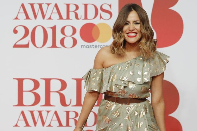 Caroline Flack: Her Life And Death will see friends of Flack including singer Olly Murs and television presenter Dermot O'Leary celebrate her life and legacy (Photo: TOLGA AKMEN/AFP via Getty Images)