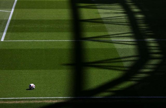 Premier League match ball. (Photo by Julian Finney/Getty Images)