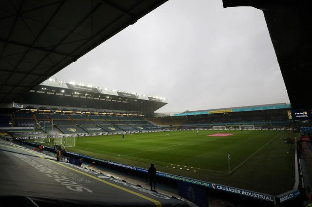 Elland Road, the home of Leeds United Football Club. (Photo by Catherine Ivill/Getty Images)