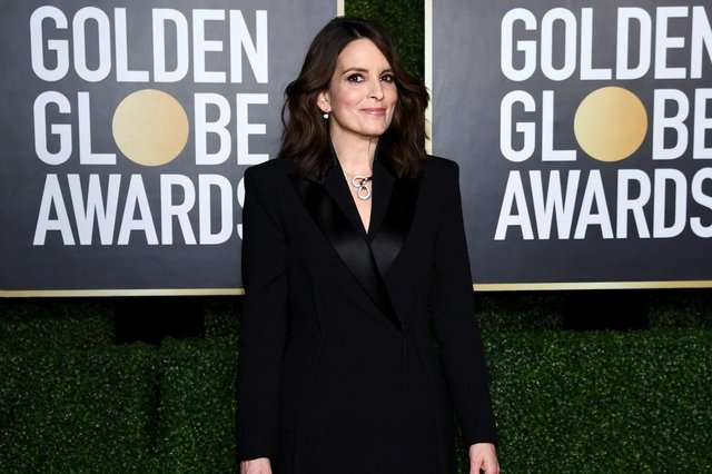Tina Fey co-hosted the Golden Globes 2021, with Amy Poehler (Picture: Getty Images)