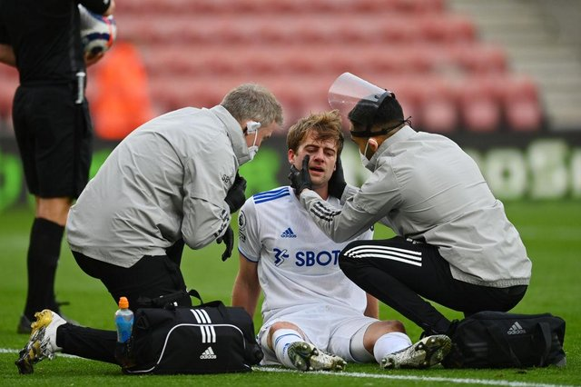 Patrick Bamford of Leeds United. (Photo by Dan Mullan/Getty Images)