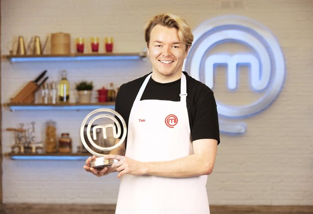 Tom Rhodes, this year's MasterChef champion,  has said he plans to 'seize this opportunity' presented to him by the competition (PA Media)